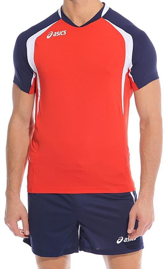 Мужская волейбольная форма Asics Set Tiger Man red (T228Z1 2650)