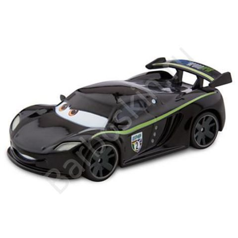 Машинка Льюис Хэмилтон (Lewis Hamilton) Литая - Die Cast Vehicle, Тачки 2 (Cars 2), Disney