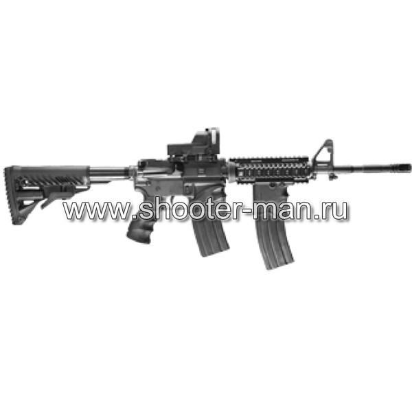 ПРИКЛАД ДЛЯ AR15/M16/АК/САЙГА FAB-DEFENSE GLR 16