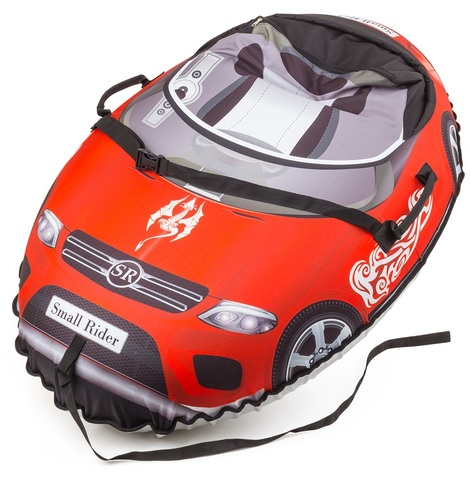 Тюбинг Small Rider Snow Cars BM Mers красный