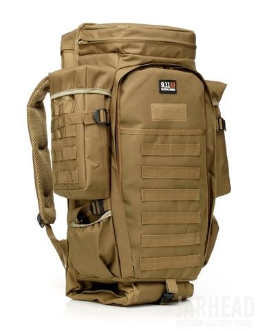 Тактический рюкзак c чехлом для оружия Cool Walker 911 Хаки