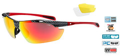 Очки Goggle Raven Race Black-Red