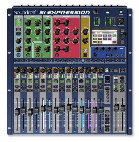 SOUNDCRAFT SI EXPRESSION 1 CONSOLE цифровой микшер