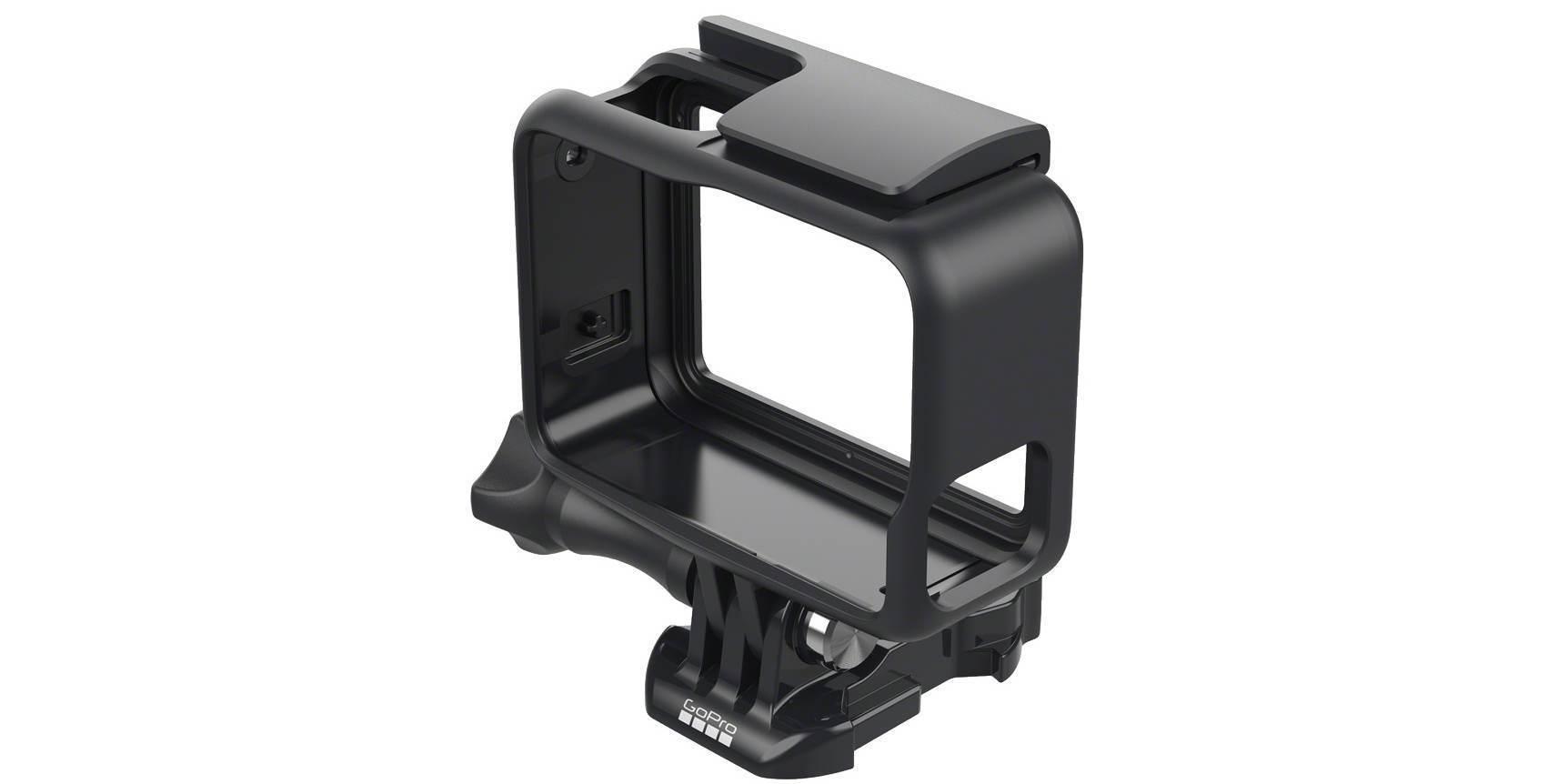 Крепление-рамка GoPro The Frame (AAFRM-001) вид сверху сбоку