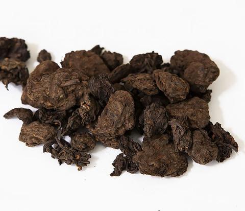 Китайский чай шу пуэр «Старые Чайные Головы» (Лао Ча Тоу, крупная фракция, 50 гр)