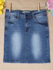 L793 юбка женская, синяя