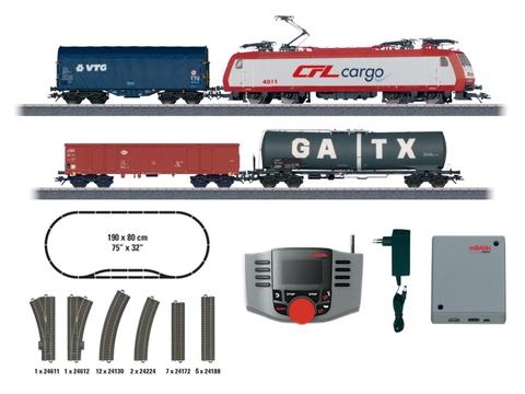 Marklin 29351 Цифровой стартовый набор Benelux с электровозом CFL Cargo 4000, Ep.VI, HO