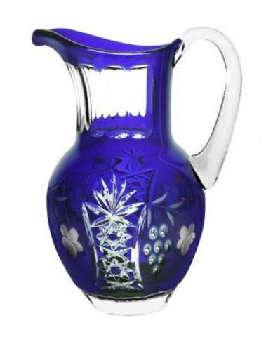 Кувшин 1200мл Ajka Crystal Grape синий