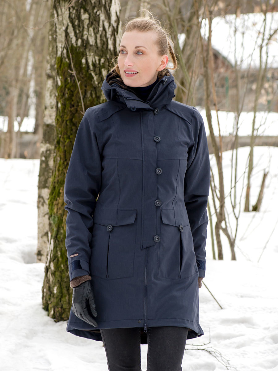 Bergans пальто 7525 Bjerke 3in1 Lady Coat Dark Navy