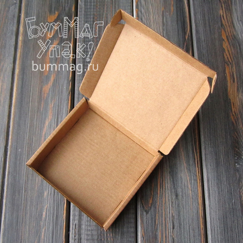 Коробка мгк С УШКАМИ (90*90*15мм)