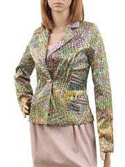 1283 пиджак женский, цветной