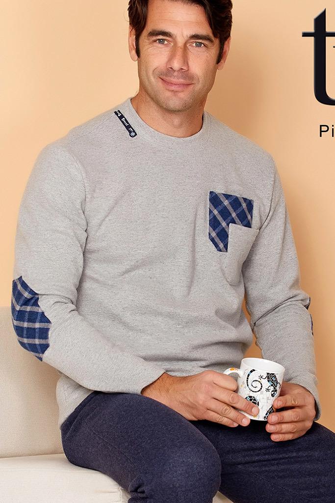 606c5c3d6e7 Теплый мужской домашний костюм Twisi — Нежная одежда