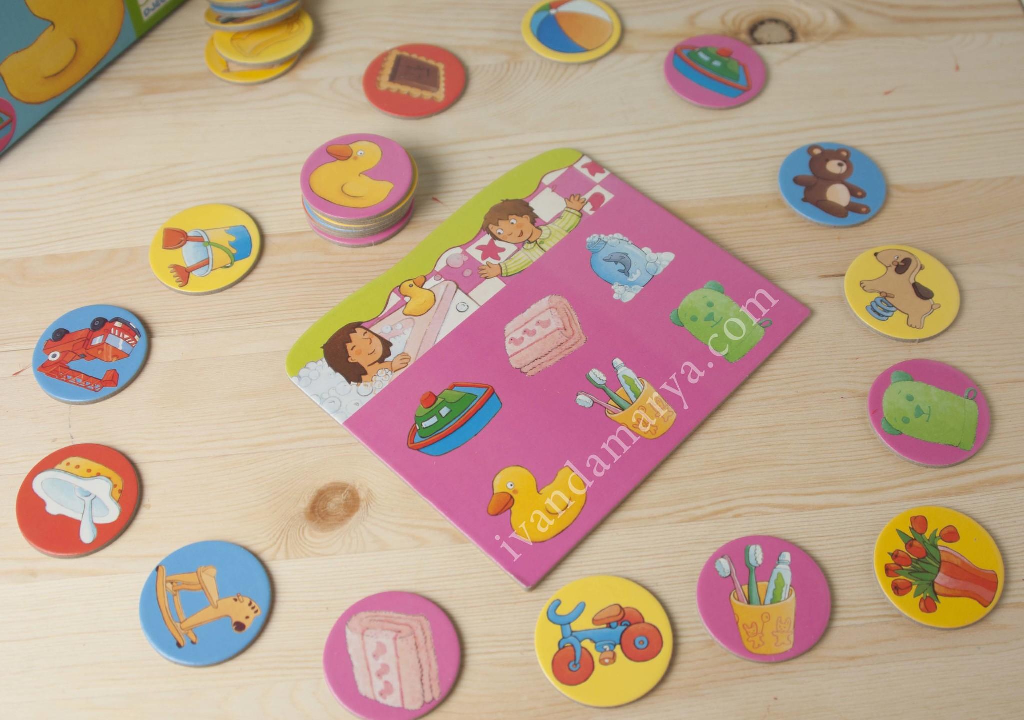 Детская настольная игра Лото Дом Djeco