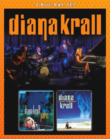 Diana Krall / Live In Paris + Live In Rio (2Blu-ray)