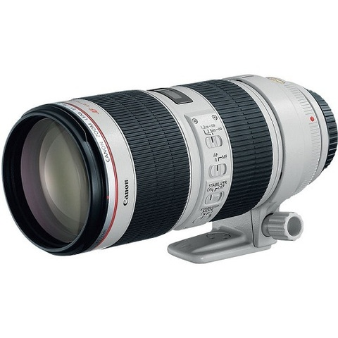 Объектив Canon EF 70-200mm f/2.8L II IS USM White для Canon