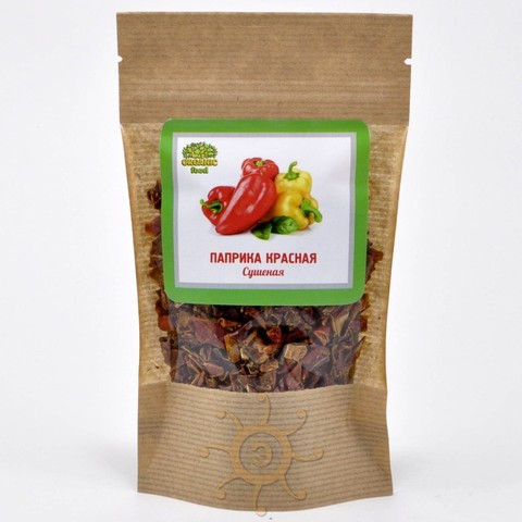 Паприка красная сушеная Organic Food, 40г