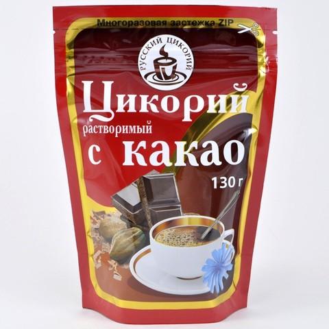 Цикорий растворимый с какао Русский Цикорий, 130г