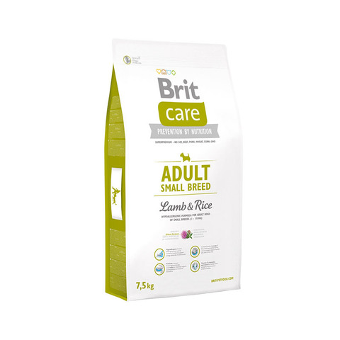 Brit Care Small Breed Lamb & Rice for dog
