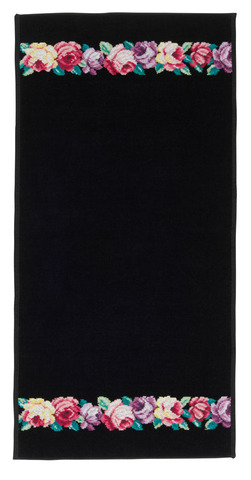 Полотенце 37x80 Feiler Chloe schwarz 10 schwarz