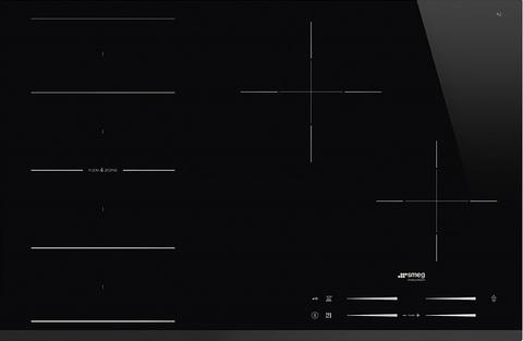 Индукционная варочная панель Smeg SI1F7845B