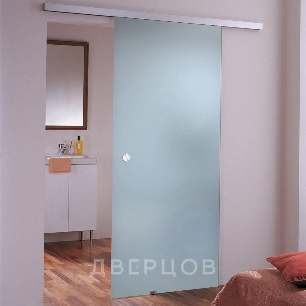 Стеклянные межкомнатные двери Стеклянная раздвижная дверь Лайт бесцветная матовая lait-bescvetnoe-alaska-dvertsov-min.jpg