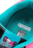 Кроссовки Монстер Хай (Monster High) на липучке для девочек, цвет черный. Изображение 8 из 8.