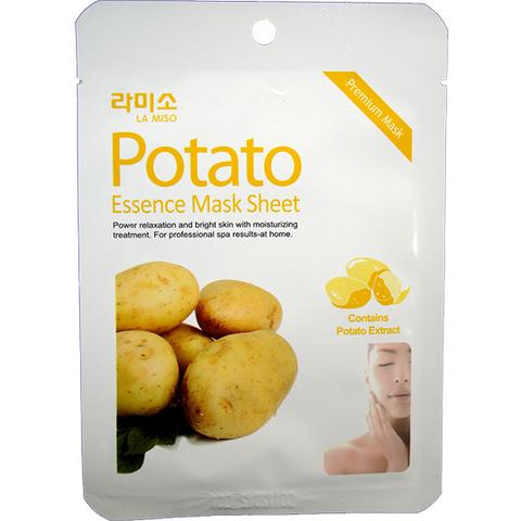 Маска с экстрактом картофеля  La Miso