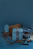 Ланч-бокс для еды 1700 мл mb square denim синий Monbento 1200 03 020 | Купить в Москве, СПб и с доставкой по всей России | Интернет магазин www.Kitchen-Devices.ru