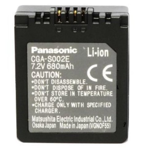 Panasonic CGA-S002E