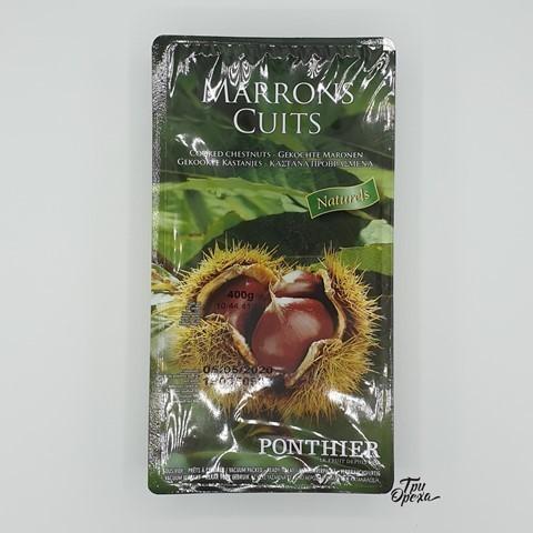 Каштаны натуральные обжаренные PONTHIER, 400 гр