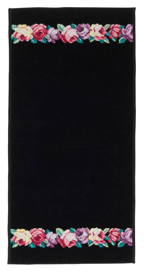 Полотенце 50x100 Feiler Chloe schwarz 10 schwarz