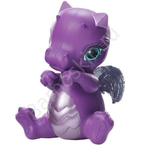 Питомец - Фиолетовый Дракончик Рейвен Квин (Raven Queen) Ever After High - Игры Драконов (Dragon Games), Mattel