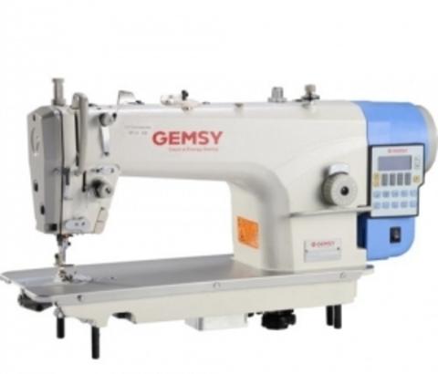 Прямострочная одноигольная машина с автоматикой Gemsy GEM 8957 CE4 | Soliy.com.ua