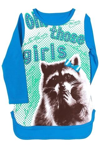 Basia Л757-4118 Туника для девочки бирюзовая