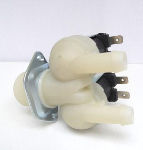 Электромагнитный заливной клапан 2W180 к стиральной машине Индезит/Аристон, LG, Samsung, Hansa,Beko, Candy, Whirpool