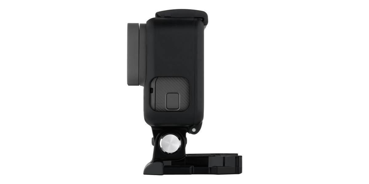 Крепление-рамка GoPro The Frame (AAFRM-001) с камерой сбоку