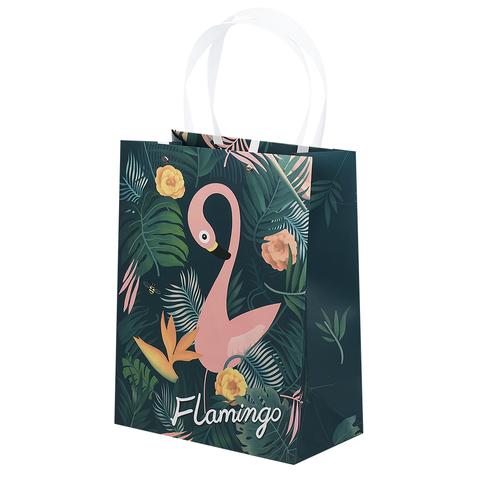 Пакет Flamingo&Leaves 24x31x13