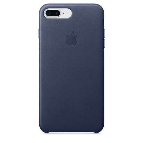 Чехол iPhone 7+/8+ Leather Case /midnight blue/