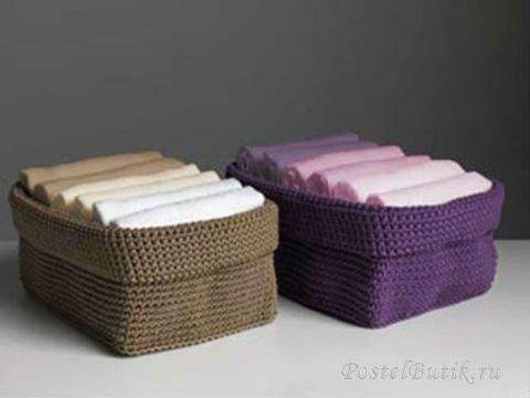 Набор полотенец 6 шт Casa Anversa Love Milano фиолетовое