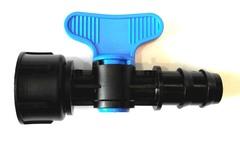 Кран IRRITEC Кран пластиковый 3/4 х 19 мм