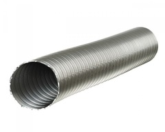 Полужесткий воздуховод ф 140 (3м) из нержавеющей стали Термовент