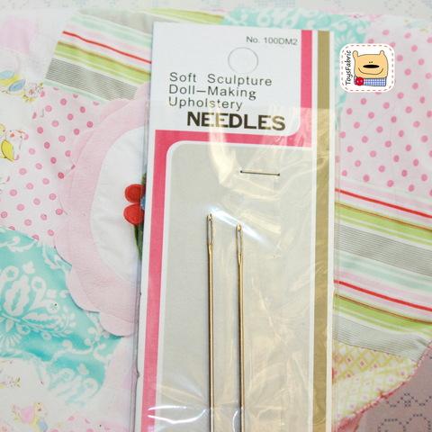 Набор игл для шитья игрушек 13см (И1)