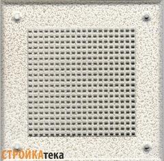 Решетка 150*150 белый антик, м.клетка