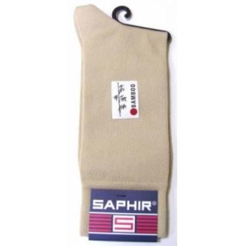 Носки мужские бамбук + нейлон, бежевые sphr63504 Saphir (3 размера)