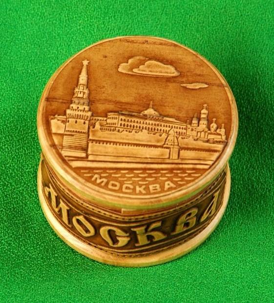 Шкатулка Москва Кремлёвская набережная