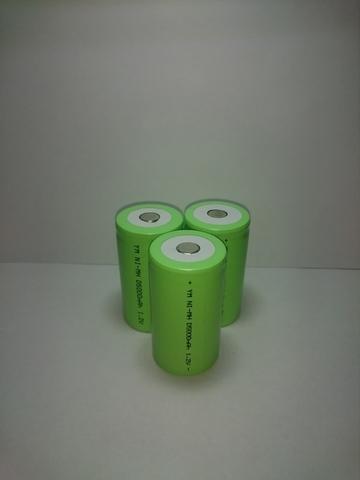 Аккумулятор D (R20) Ni-Mh 5000mAh 1,2V 6Wh