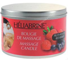 Свеча массажная Красные Ягоды (Heliabrine | Линия Satin | Bougie de massage Fruits Rouges), 150 гр