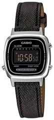Женские наручные электронные часы Casio LA-670WL-1BDF