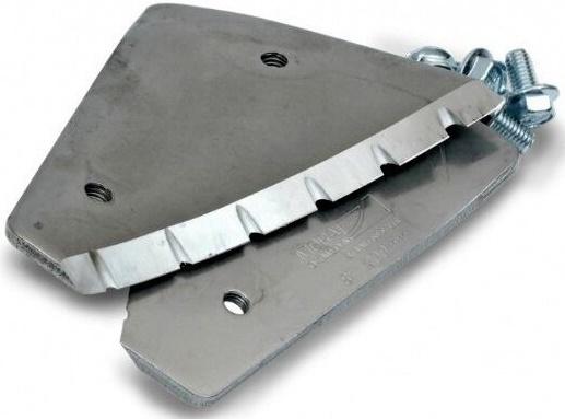 Сменные зубчатые ножи Mora Ice для шнека мотоледобура Arctic Power Drill