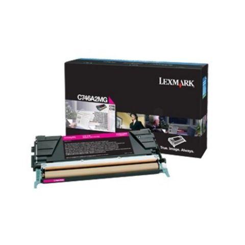 Картридж для принтеров Lexmark C746dn/C746dtn/C746n/C748de/C748dte/C748e пурпурный (magenta). Ресурс 7000 стр (C746A3MG)
